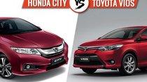 Giá lăn bánh của Honda City và Toyota Vios là bao nhiêu giữa tâm bão giá?
