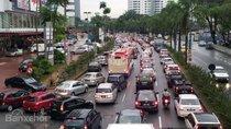 Malaysia hiện đạt hơn 13 triệu xe ô tô lưu thông trên đường