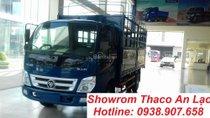 Bán xe tải Thaco Ollin 360 tải trọng 2T4, thùng mui bạt/ thùng kín/ thùng lửng dài 4m3