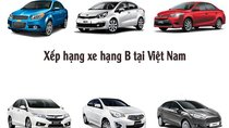 Top 10 xe hạng B ăn khách nhất Việt Nam tháng 10/2017