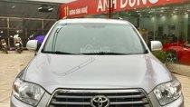 Bán Toyota Highlander V6 3.5 sản xuất 2007, màu bạc, nhập khẩu chính chủ, giá tốt