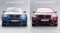So sánh thiết kế của BMW X4 2019 và thế hệ cũ