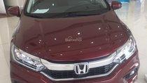 Bán xe Honda City CVT 2018, màu đỏ, mới 100% chính hãng, giá tốt nhất khu vực, giao xe ngay 0933 87 28 28
