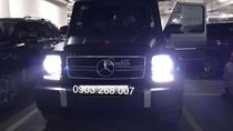 Cần bán lại xe Mercedes G63 AMG 2016, màu đen, nhập khẩu nguyên chiếc chính chủ