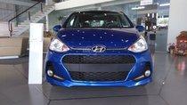 Cần bán Hyundai Grand i10 1.2L MT 2018, màu xanh, giá tốt xe giao ngay
