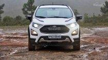 Cần bán Ford EcoSport 1.5L MT Trend đời 2018, màu trắng