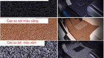 Phân biệt các loại thảm lót sàn ô tô bằng cao su