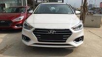 Bán ô tô Hyundai Accent 1.4L AT tiêu chuẩn 2019màu Trắng, giá tốt xe giao ngay