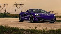 McLaren 570GT độ ngoại thất tím trang trọng bất ngờ
