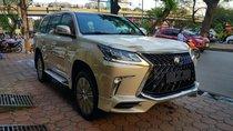 Bán ô tô Lexus LX 570s Super Sport Sx 2018, màu vàng cát, Nhập khẩu Trung Đông LH: 0982.84.2838