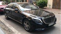 Bán ô tô Mercedes S400 đời 2017, màu đen, nội thất nâu, chính chủ sử dụng, biển Hà Nội