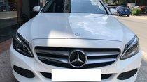 Bán Mercedes-Benz C200 màu trắng, đời 2018, siêu mới hộp số 9 cấp