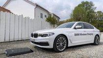 BMW trình làng hệ thống sạc xe hybrid không dây với BMW 530e iPerformance
