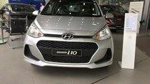 Bán Hyundai Grand i10 1.2 MT Base đời 2018, màu bạc, giá cạnh tranh xe giao ngay