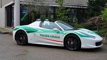Siêu xe Ferrari 458 Spider được công an trưng dụng làm xe công vụ