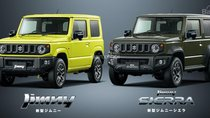 Suzuki Jimny và Jimny Sierra 2019 thế hệ mới chính thức lộ diện