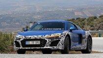 Audi R8 2019 tiếp tục lộ ảnh chạy thử