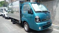 Bán xe tải 1.95 tấn Thaco Kia K200 mui bạt, màu xanh, máy điện, hỗ trợ trả góp