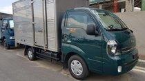 Bán xe tải 1.9 tấn Thaco Kia K200 thùng kín, xanh lá, máy điện, hỗ trợ trả góp