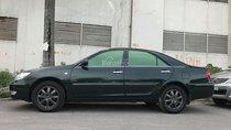 Cần bán Toyota Camry V6 AT đời 2003, màu xanh lục, 295tr