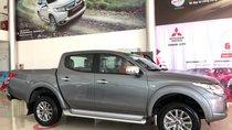 Cần bán xe Mitsubishi Triton 2.5 MT đời 2018, màu xám (ghi), nhập khẩu nguyên chiếc