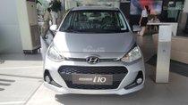 Bán Hyundai Grand i10 giao ngay màu bạc 2018
