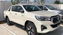 Bán Toyota Hilux sản xuất 2018, màu trắng, nhập khẩu nguyên chiếc