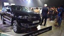 Ford Everest 2.0L Titanium Biturbo model 2019, màu đen, nhập khẩu, hỗ trợ trả góp lãi suất thấp, ổn định không thay đổi
