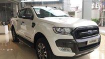 Hải PhòngFord bán ô tô Ford Ranger Wildtrak 2.0 biturbo 2018, màu trắng, xe nhập, 910tr. Hỗ trợ trả góp