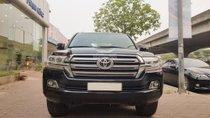 Bán Toyota Land Cruiser VX sản xuất 2016, màu đen, đăng ký tên cá nhân