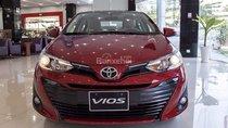 Bán Vios model 2019 tại Nha Trang màu đỏ - hỗ trợ ngân hàng, nhiều màu xe