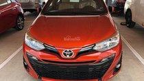 Cần bán xe Toyota Yaris 1.5G năm sản xuất 2018, màu cam, nhập khẩu nguyên chiếc giá cạnh tranh