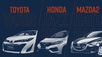Hatchback hạng B dưới 650 triệu đồng: Toyota Yaris G, Honda Jazz RS hay Mazda 2?