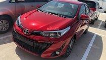 Toyota Yaris 1.5G sản xuất 2018, màu đỏ, giao ngay