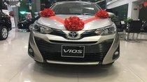 Bán ô tô Toyota Vios 1.5G 2019, màu nâu vàng, giá cực tốt, KM hấp dẫn