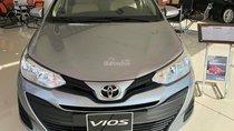Bán ô tô Toyota Vios 1.5E CVT đời 2018, màu bạc