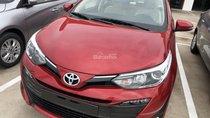 Bán Toyota Vios 1.5G CVT đời 2019, màu đỏ, Tặng 1 năm BHVC Thân xe