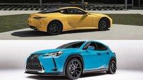 Hai phiên bản Lexus LC và UX đặc biệt đầy màu sắc lộ diện