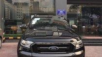 Cần bán Ford Ranger Wildtrak 2.0 Biturbo sản xuất năm 2018, màu đen, xe nhập, giá 918 triệu