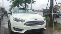 Bán Ford Focus Titanium 4D năm 2018, mới 100% màu trắng tại An Đô Ford, giao ngay - L/h: 0963483132
