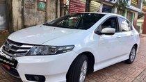 Cần bán xe Honda City AT sản xuất 2014, màu trắng đẹp như mới