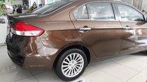Cần bán xe Suzuki Ciaz, màu nâu, xe nhập, sở hữu chỉ với 160 triệu