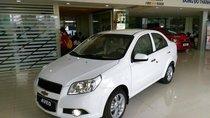 Cần bán xe Chevrolet Aveo sản xuất 2018, màu trắng, giá tốt