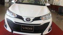 Cần bán xe Toyota Vios 1.5E sản xuất 2018, màu trắng, giá tốt