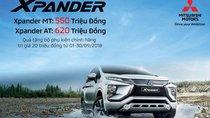 Chính thức: Giá lăn bánh Mitsubishi Xpander 2018 mới nhất hôm nay