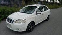 Daewoo Gentra đời 2007, màu trắng, số sàn, tư nhân sử dụng, xe đẹp, giá đẹp