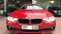 BMW 3 Series 320i sản xuất 2016, đăng ký 05.2018, màu đỏ, biển Hà Nội