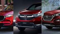 Top 5 xe bán chạy nhất phân khúc crossover tháng 11: Honda CR-V vẫn đứng sau Mazda CX-5