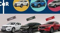 CUV hơn 1 tỷ đồng, so sánh bộ ba Honda CR-V, Mazda CX-5 và Nissan X-Trail