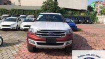 Lào Cai Ford Bán xe Ford Everest 2018 màu đỏ giá tốt nhất có xe giao ngay cho khách hàng Hotline 094.697.4404